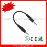 Male에 3.5mm 4pole Stereo Audio Cable Male