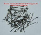 Estremità agganciata fibra d'acciaio per calcestruzzo