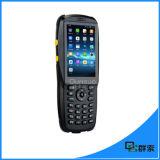 防水人間の特徴をもつタッチ画面手持ち型PDAのバーコードのスキャンナー