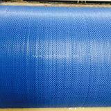Tela tejida plana de los PP del geotextil azul de China