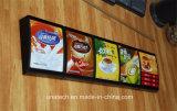 Fast-Food van Mcdonald Kfc van het menu de Binnen LEIDENE van het Aluminium van het Restaurant van de Kantine Lichte Doos van de Raad