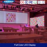 P3.91 étape d'intérieur Pantalla de l'intense luminosité LED