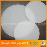 Plaque en plastique de diffuseur de picoseconde de ventes de picoseconde de diffuseur d'éclairage LED en plastique chaud de feuille