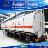 Petroleiro do combustível do Tri-Eixo 40cbm/do petróleo transporte do caminhão reboque Diesel do tanque Semi para a venda