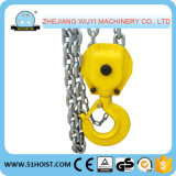 Type de HS-J bloc à chaînes de poulie de main de 5 tonnes