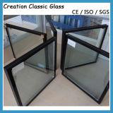 構築によって薄板にされる和らげられた絶縁されたガラス窓のドアガラス