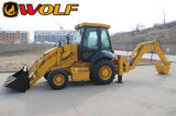 JCB Model Backhoe Loader de High Configuration Road Contruction de loup avec Imported Cummins Engine