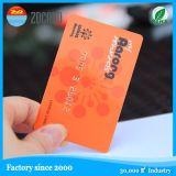 Cartão geado do plástico do cartão da listra magnética do cartão do PVC