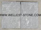 Assoalho de telha cinzento natural do granito que pavimenta a telha decorativa da parede do Paver do jardim da telha