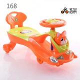 Passeio novo do carro do balanço do bebê do projeto no carro da torção