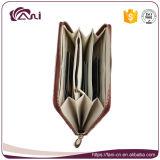 Бумажник для девушок, кожа шаржа Fani изготовленный на заказ PU портмона