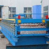 Kalte Dach-Blatt-doppelte Schicht-Rolle, die Maschine bildet