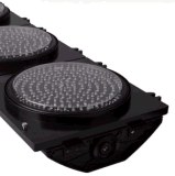 светофор СИД 300mm с алюминием PC комплекса предпусковых операций отметчика времени 2-Digital
