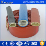 Chemise d'incendie de boyau de fibre de verre et de silicones pour le boyau de température élevée