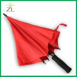 يختصّ مصنع ترويجيّة شعبيّة 23 بوصات يعلن [10ك] مظلة مستقيمة مع علامة تجاريّة طباعة