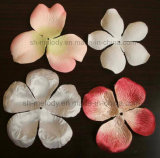 Fleur artificielle/fleurs en soie pétale fleur de tissu/en soie pour Scrapbooking