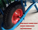 Цветастая конкретная тачка с сильным объезжая курганом колеса ярда Hsd-5