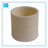 Crogiolo cilindrico refrattario dell'allumina di resistenza a temperatura elevata