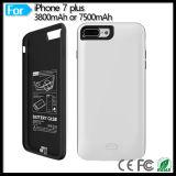 Côté protecteur de pouvoir de pack batterie du portable 3800mAh de téléphone mobile pour l'iPhone 7 d'Apple plus 5.5 pouces