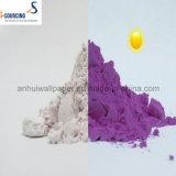 Colorant photochromique, modification de Coloress au rouge sous la lumière du soleil