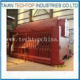 Chaudière à vapeur mise le feu supérieure de charbon industriel de 8 tonnes