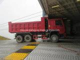 HOWO 6X4 덤프 트럭 팁 주는 사람 6X4 트럭