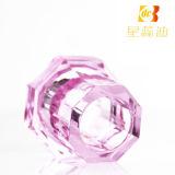 Розовая крышка брызга бутылки дух крышек атомизатора цвета