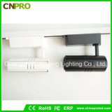 Luz negra blanca de la pista de la MAZORCA LED de la cubierta 15W para el techo de Downlight del proyector