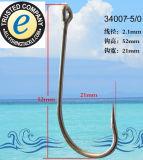 Edelstahl-Fischerei-Haken-einzelner Haken 34007