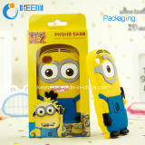 Samsung /iPhone/LGのための3D Silicone Minions Cell Phone Case