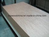madera contrachapada chapeada Meranti del grado de los muebles de la alta calidad de 4.5m m