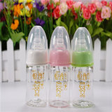 60ml Standard Mouth Crystal Diamond Baby Glass Bottles