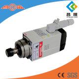 motore ad alta frequenza dell'asse di rotazione raffreddato aria quadrata 1.5kw per la macchina per incidere di falegnameria di CNC