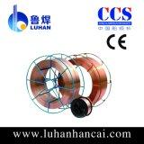 fil de soudure protégé du gaz de CO2 de 1.0mm utilisé dans la construction de bateau