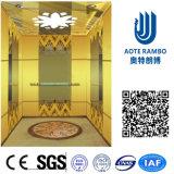 Лифт резиденции домашний с приводом AC Vvvf беззубчатым (RLS-205)