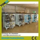 背部シールの磨き粉の粉末洗剤の微粒の砂糖のパッキング機械