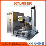 macchina per incidere della marcatura del laser della fibra di 20W 30W per gli anelli in oro, argento
