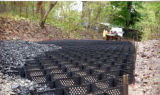 Plástico HDPE Geocell Gravel Grid