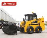 Schienen-Ochse-Dieselladevorrichtung der Import-motorangetriebene Steuerknüppel-SteuerRotluchs-Kasten-Cer-Überrollschutzvorrichtung-Geck-Ws65