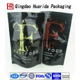 Le casse-croûte estampé par logo fait sur commande ébrèche le sac en plastique de conditionnement des aliments