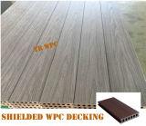 Neuer hölzerner zusammengesetzter Decking-Plastikbodenbelag
