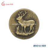 Pin di vendita superiore del risvolto del metallo del distintivo dell'oro