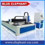 Ele 1530 CNC de Snijder van de Laser van de Vezel, de Laser die van de Vezel van de Koolstof Machine voor Staal, Metaal merkt