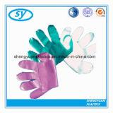 Kundenspezifische Wegwerfmehrfarben-PE/HDPE/LDPE Handschuhe