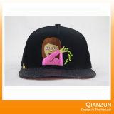 Sombreros del bordado de 3D de los hombres de encargo de Brown para la venta
