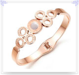 ステンレス鋼の宝石類新しいデザイン方法腕輪(BR342)