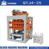 기계 가격을 만드는 Qtj4-25 구렁 구획