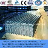 Galvanisierte gewölbtes Dach-Stahlplatte/Blatt