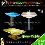 Cor que muda a sala de estar plástica da tabela do diodo emissor de luz do fulgor