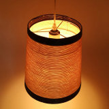 Moderner Entwurfs-Papier-Netzkabel-natürliche Art-hängende Lampe